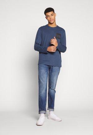 CALLEN - Džíny Relaxed Fit - dark-blue denim