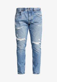 Pepe Jeans - CALLEN CROP - Jean boyfriend - wiser wash destroy med used - 4