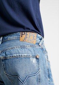Pepe Jeans - CALLEN CROP - Jean boyfriend - wiser wash destroy med used - 3