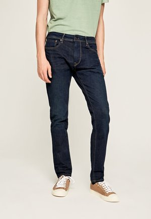 STANLEY - Jeansy Slim Fit - blue denim