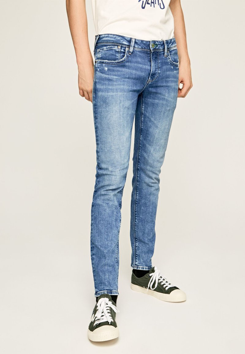 Pepe Jeans - HATCH - Jeansy Slim Fit - blue denim