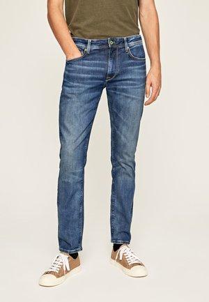STANLEY - Jeans Straight Leg - blue denim