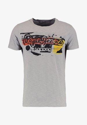 AMERSHAM - T-shirt z nadrukiem - 925middle grey