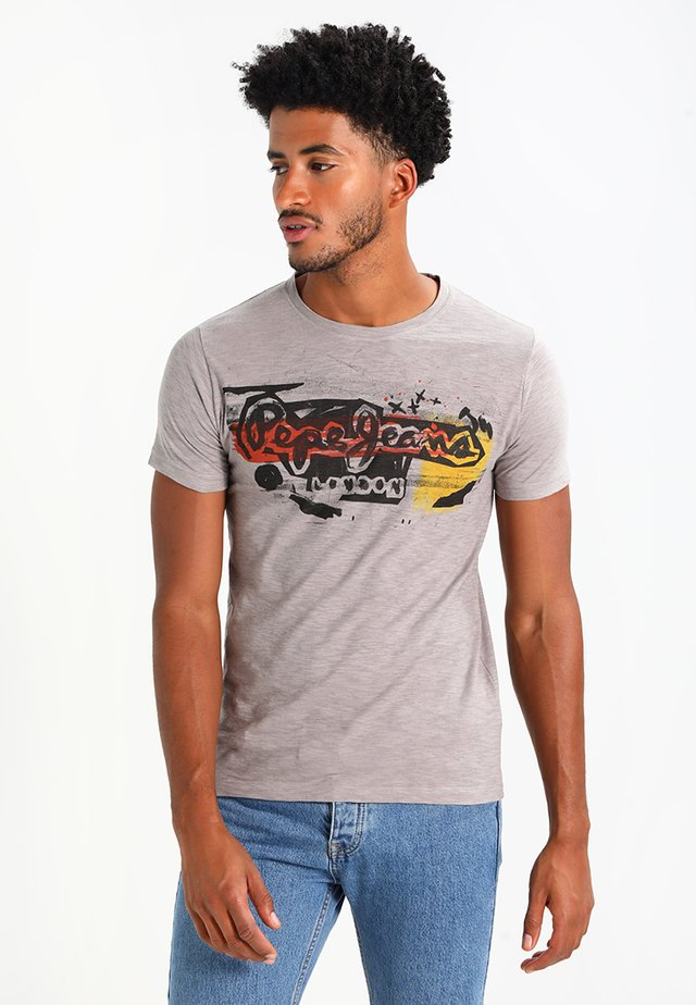 AMERSHAM - Camiseta estampada - 925middle grey