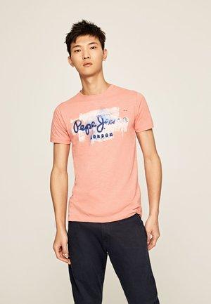 GOLDERS - T-shirt z nadrukiem - pink
