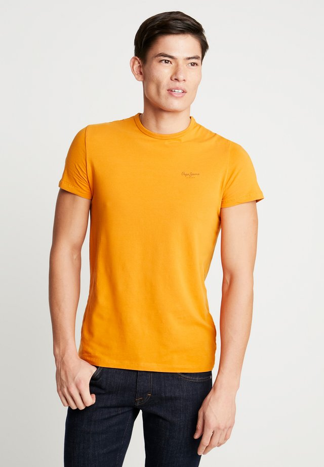 ORIGINAL BASIC - Camiseta básica - golden ochre