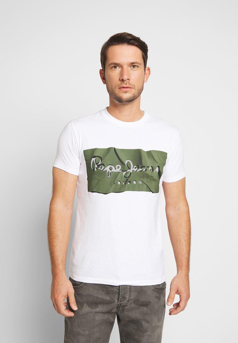 Pepe Jeans - RAURY - Camiseta estampada - safari