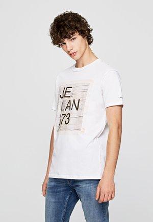 BRION - T-Shirt print - optic white