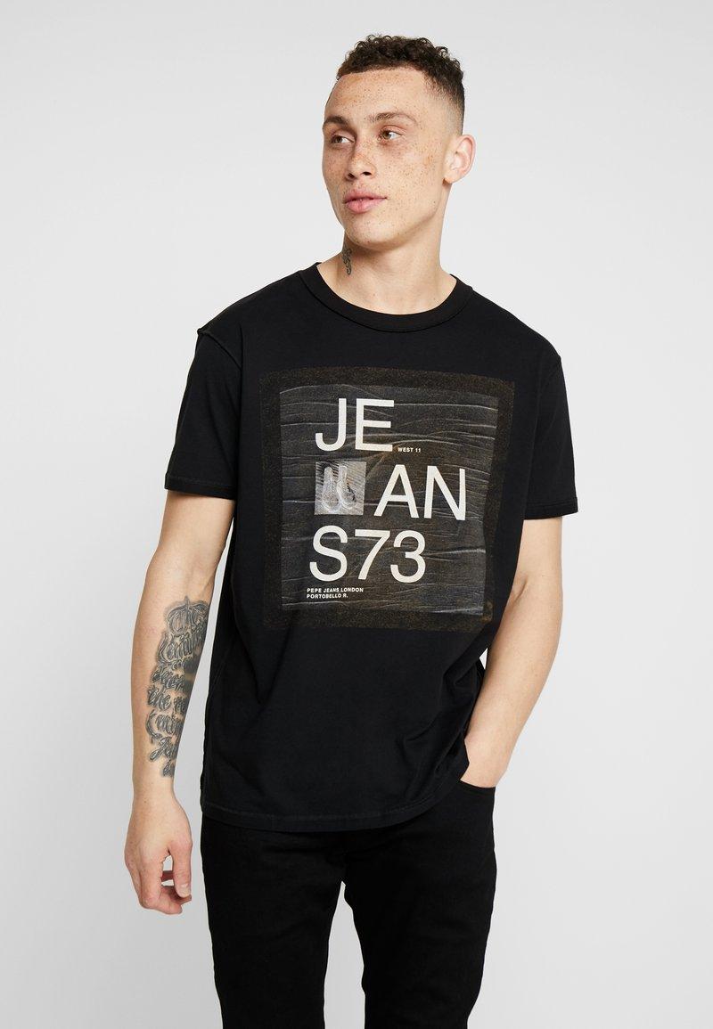 Pepe Jeans - BRION - Camiseta estampada - black