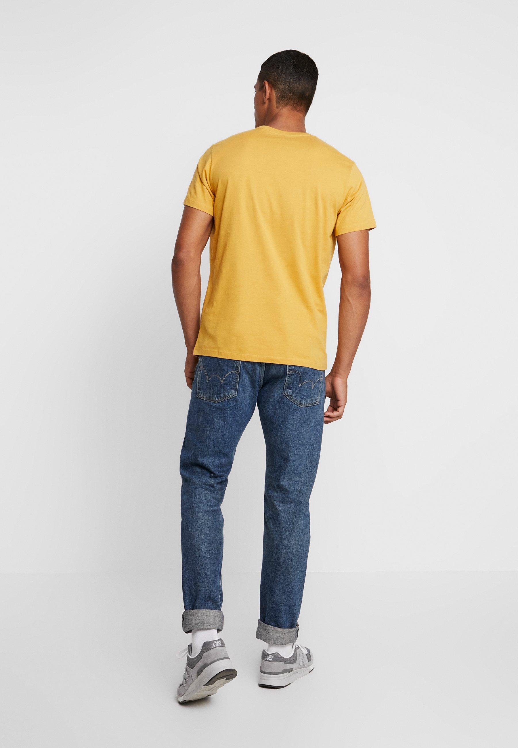 ochre print Pepe EGGOT orange Jeans Shirt nOP0wk