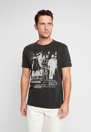 TODD - T-shirt con stampa - black