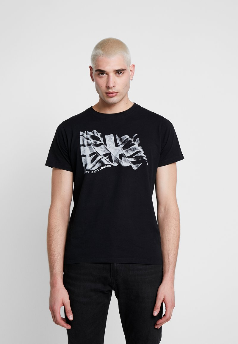 Pepe Jeans - BETRAND - T-shirt print - black