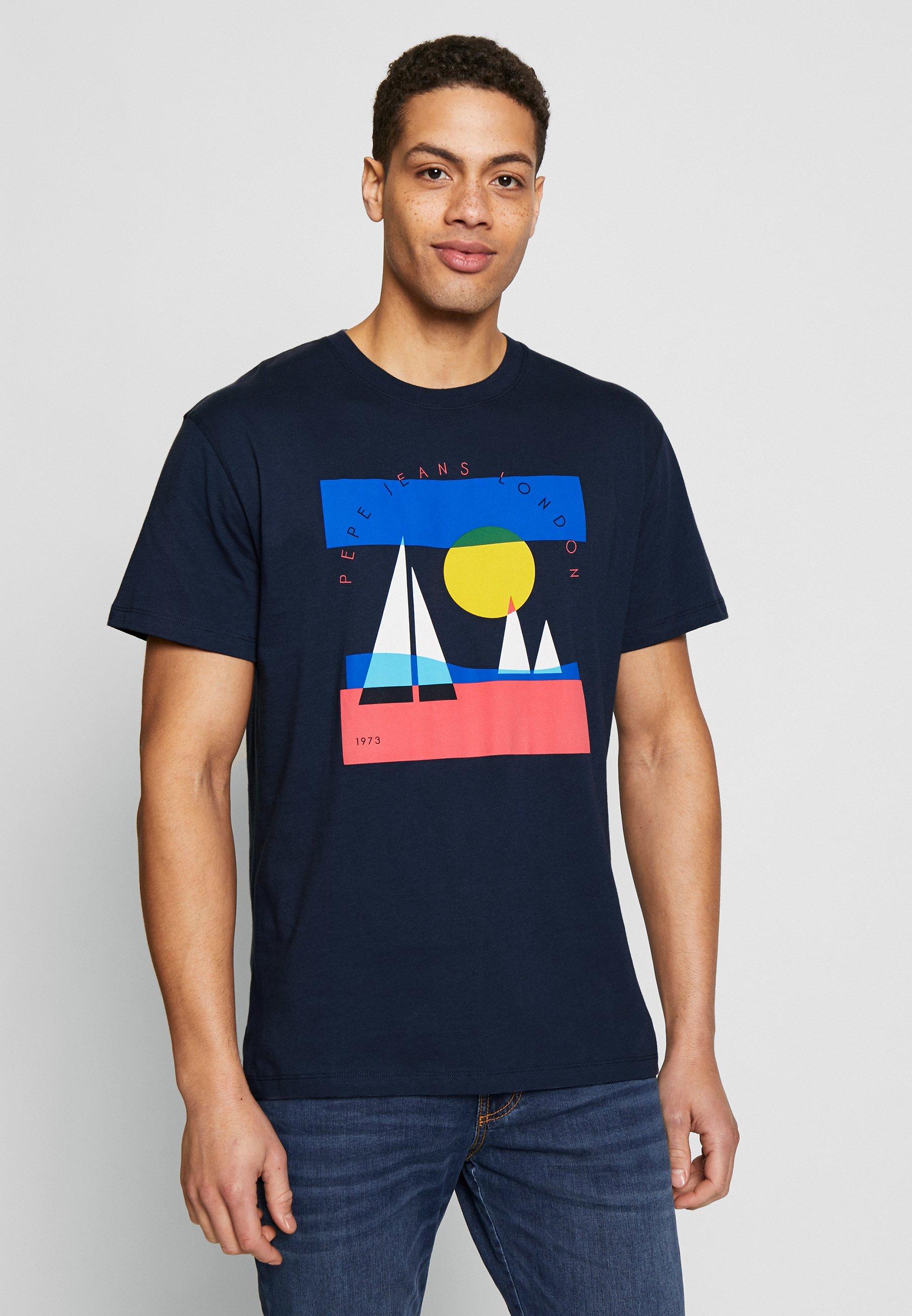 Koszulki męskie Pepe Jeans idealne na każdą okazję w Zalando