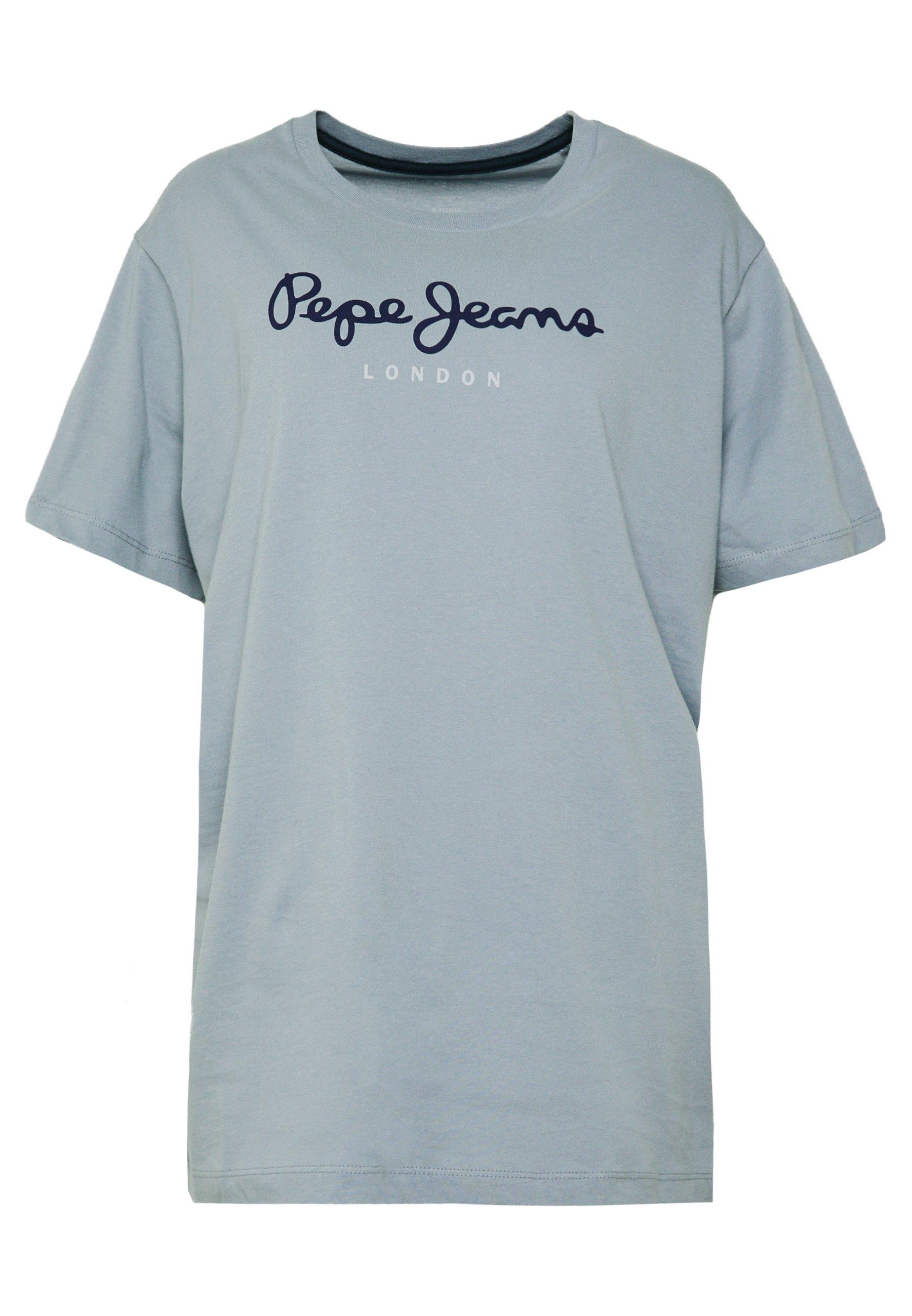 Pepe Jeans EGGO - T-shirt z nadrukiem - shadow