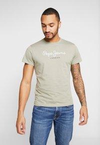 Pepe Jeans - EGGO - Print T-shirt - army - 0