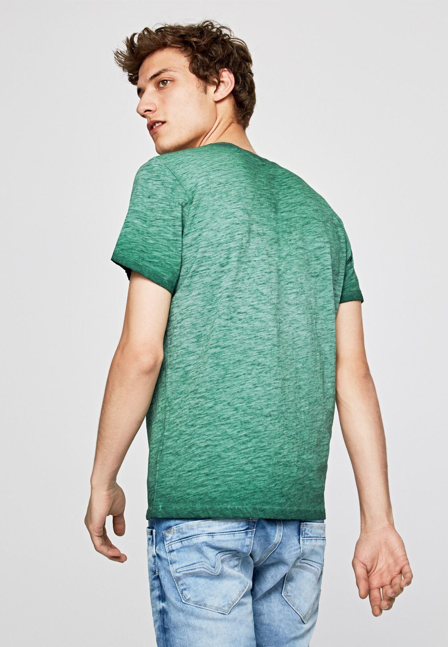 Pepe Shirt green print Jeans DONT Ybfgy6I7v