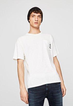 WARREN - Camiseta estampada - off-white