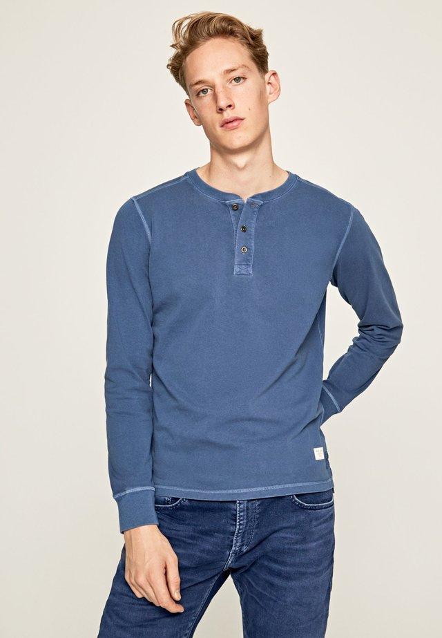BANCROFT - Long sleeved top - dark blue