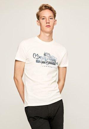 BOBBY - Print T-shirt - mousse