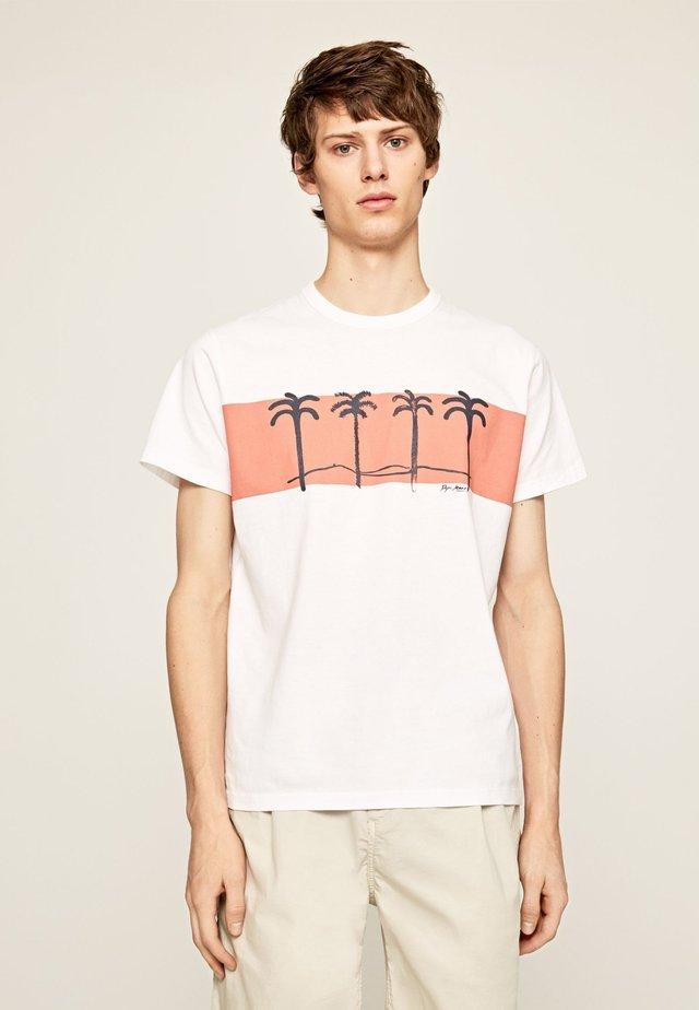 JOOLS - Print T-shirt - blanco off
