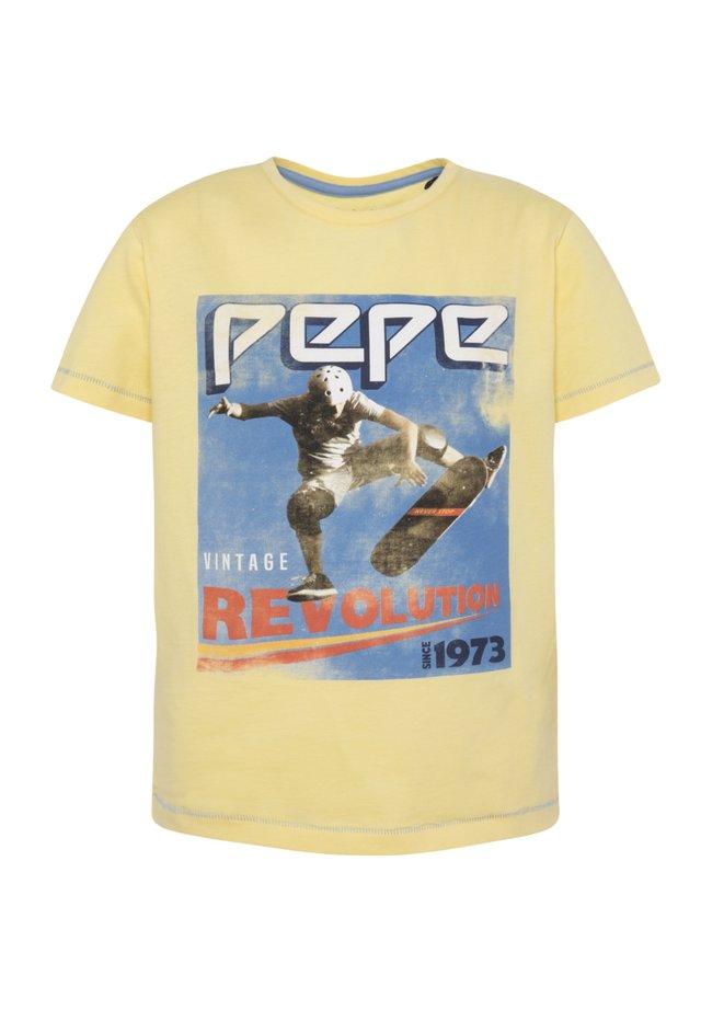 BASILE - Camiseta estampada - solar
