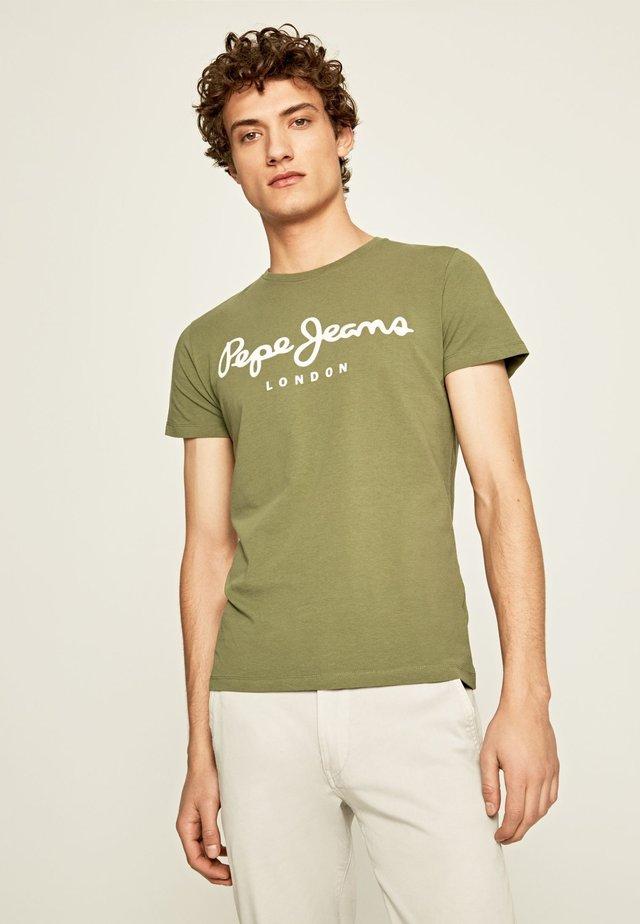Camiseta estampada - safari