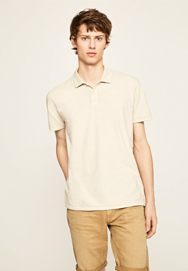 LEON - Polo - grain beige