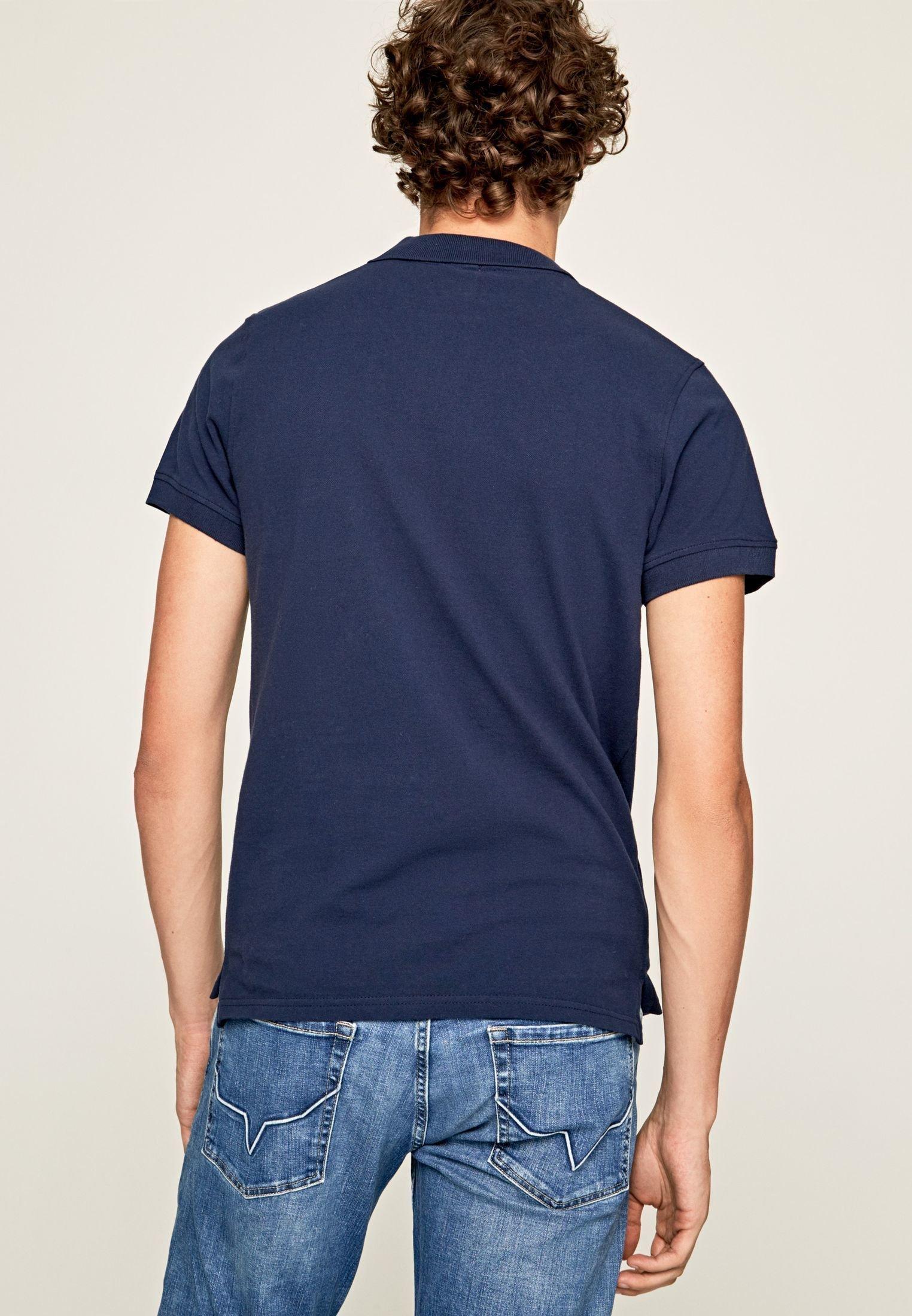 Pepe Jeans Basic Vincent - Polo Azul Marino mqiI2