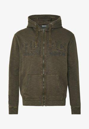 IKER - Zip-up hoodie - dapple
