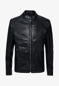 Pepe Jeans - DONOVAN - Leather jacket - black - 5