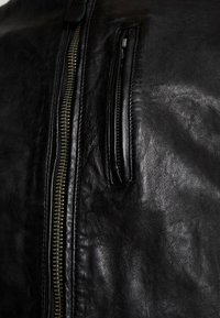 Pepe Jeans - DONOVAN - Leather jacket - black - 6