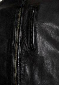 Pepe Jeans - DONOVAN - Leren jas - black - 6