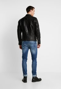 Pepe Jeans - DONOVAN - Leather jacket - black - 2