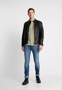 Pepe Jeans - DONOVAN - Leren jas - black - 1