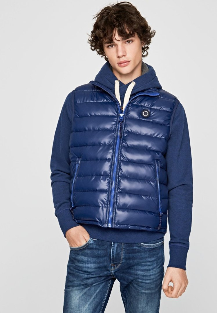 Pepe Jeans - JOE - Weste - navy blue