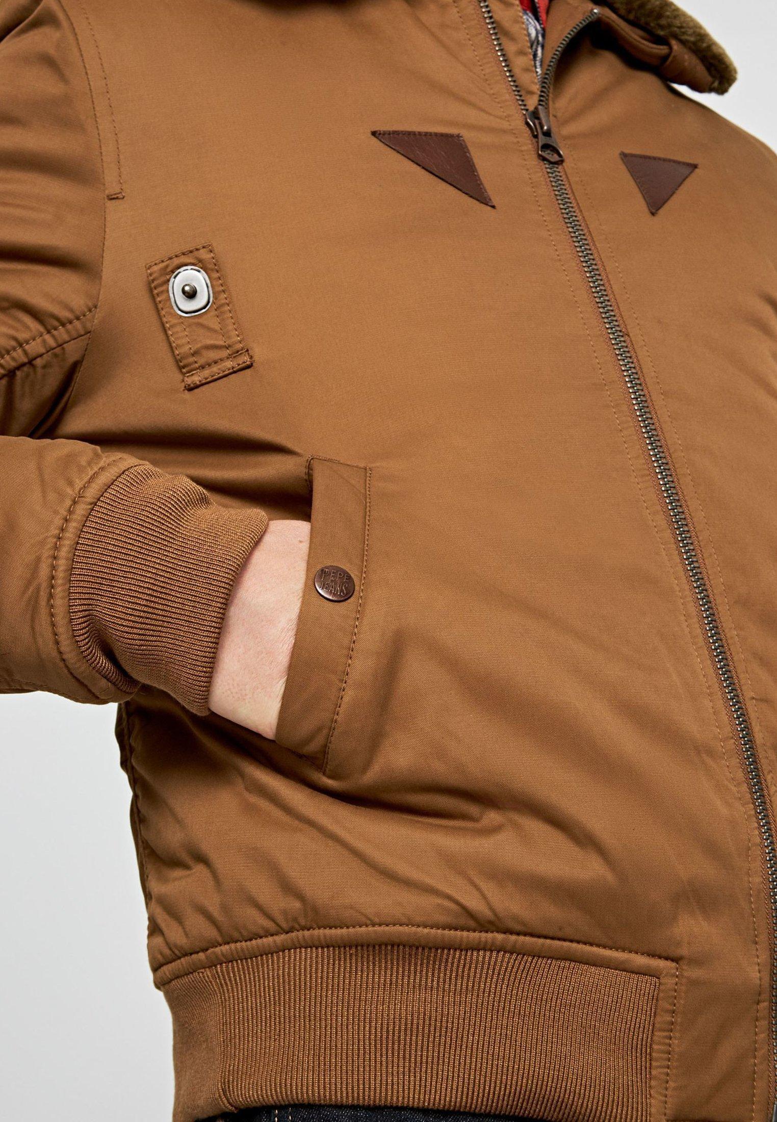 Pepe Jeans Barron - Übergangsjacke Beige