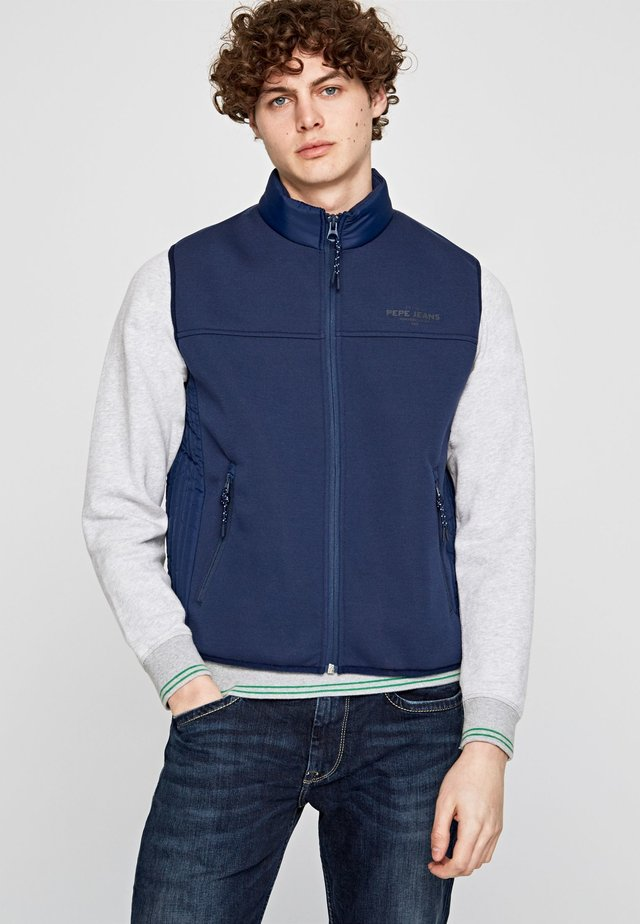 TERRAL - Chaleco - navy blue