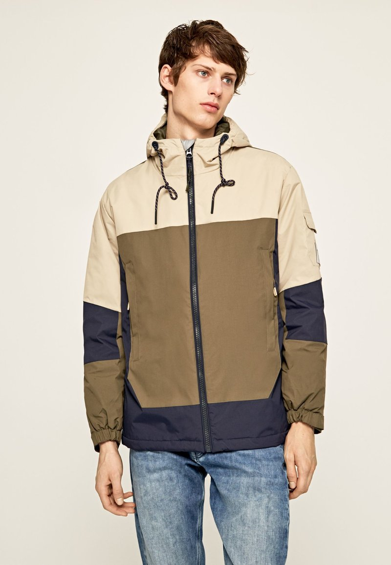 Pepe Jeans - PETE - Kurtka Outdoor - chatham blue