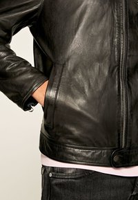 Pepe Jeans - JARED - Leather jacket - black - 4