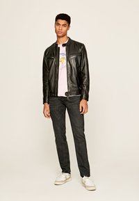 Pepe Jeans - JARED - Leather jacket - black - 1