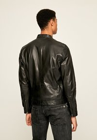 Pepe Jeans - JARED - Leather jacket - black - 2
