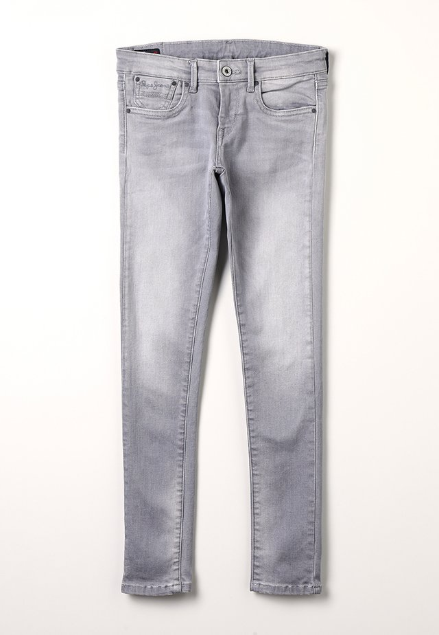 PIXLETTE - Jeans Skinny Fit - grey denim