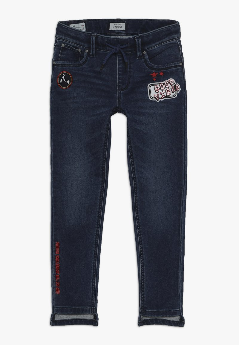 Pepe Jeans - SNICKER BADGE - Vaqueros slim fit - 10oz