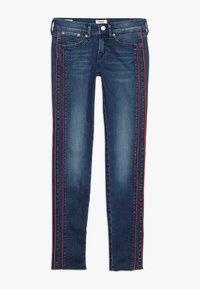 Pepe Jeans - PIXLETTE RACER DESTROY - Skinny džíny - dark dual force denim - 0