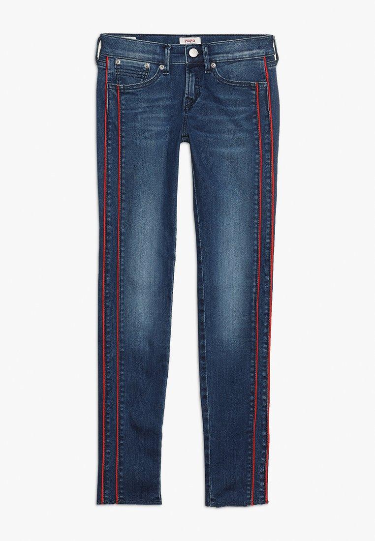 Pepe Jeans - PIXLETTE RACER DESTROY - Skinny džíny - dark dual force denim