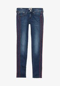 Pepe Jeans - PIXLETTE RACER DESTROY - Skinny džíny - dark dual force denim - 3