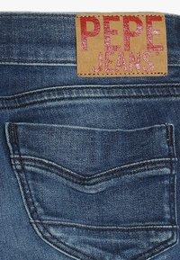 Pepe Jeans - PIXLETTE RACER DESTROY - Skinny džíny - dark dual force denim - 2