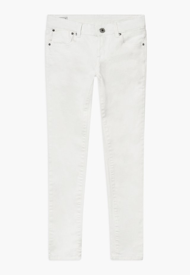 PIXLETTE - Vaqueros pitillo - white denim