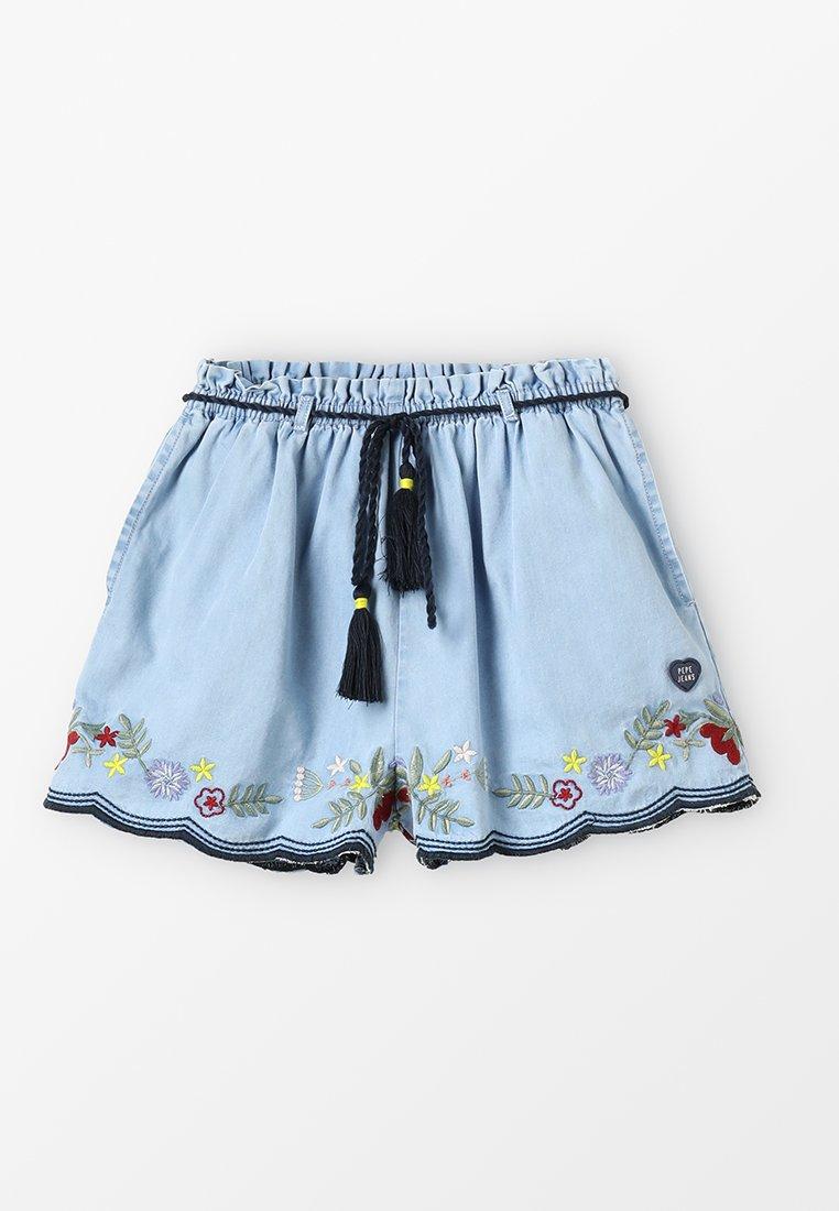 Pepe Jeans - DORA - Shorts vaqueros - blue