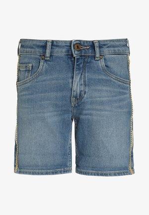 MELANIE REBEL - Shorts vaqueros - denim